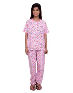 Night Suits - Snoby Full Print Cotton Nightwear (SBY5010)
