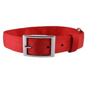 Pet Supplies - Snoby Red Nylon collar Belt (SBYSC33)