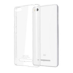 Carry cases and pouches for mobile - Snoby Rubber Back Cover for Xiaomi Mi 4i (Crystal Transparent) (SETM_72)
