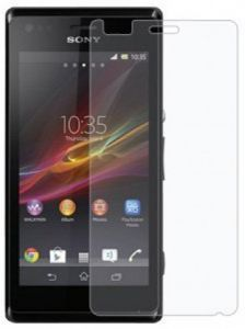Sony - Snoby Crystel Tempered Glass Guard for Sony Xperia M  (SETM_91)