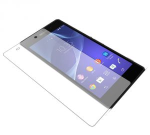 Sony - Snoby Crystal Tempered Glass Guard for Sony Xperia Z (SETT_37)