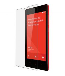 Snoby Crystal Tempered Glass Guard For Xiaomi Redmi 1s (sett_93)