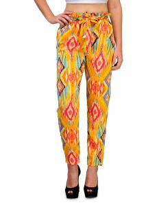 Sportelle Usa India Crepe Printed Pyjama_7155_