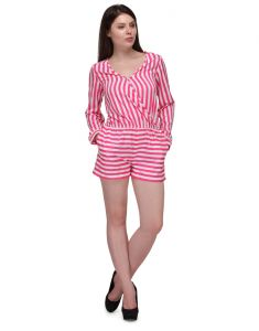 Sportelle Usa India Crepe Paly Suit_7196_