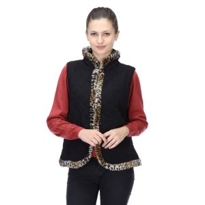 Le Fashionelle Sleeves Stylish European Winter Jacket With High Grade Polyfill For Women