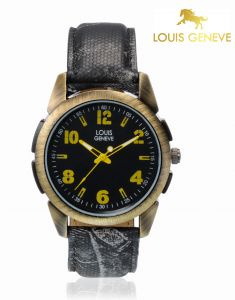 Louis Geneve Mens Wrist Watch_lg-mw-yblack-009