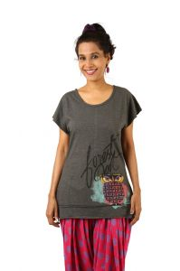 Indricka Black Color Top For Women.