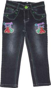 Jeans - Mankoose Jeans- Girls Slim Fit Jeans Color Black, Size 22 4-5 Yr