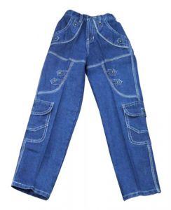 Jeans - Mankoose Jeans- Boys Jeans Dark Blue Size32 (9-10 Yr)