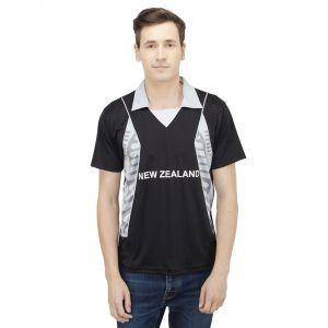 T10 Sports Microfiber Multicolor Newzeland Fan Jersey T Shirt For Men - (code -8907173036008_p)