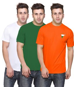 Set Of 3 Tricolor T-shirt