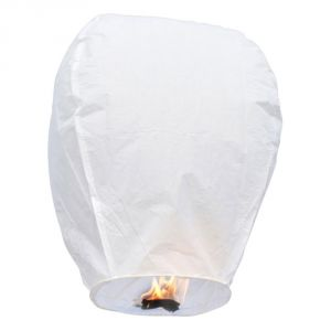 Great Art White Paper Made Make A Wish Sky Lantern 103