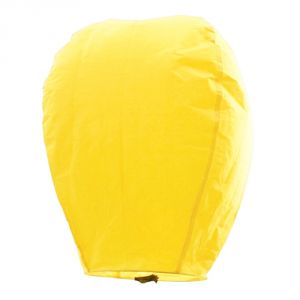 Great Art Amazing Yellow Paper Made Sky Lantern 104