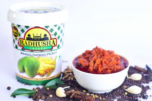 Pickles - Badhusha Lazeez Mango Thokku (Grated) Pickle 300g