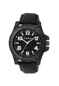 Grandlay Ct-2002 Black Watch For Men