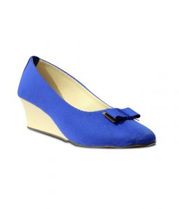 Wedges - Indilego Blue Denim Women Wedges (Product Code - Ilegobwbl003)