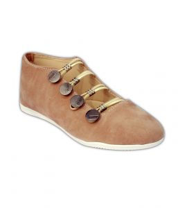 Casual Shoes (Women's) - Indilego Beige Suede  Shoes (Product Code - Ilegoshfbeg37)