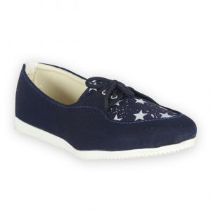 Women's Footwear - Indilego Women'S Blue Fabric  Shoes (Product Code - Ilegoshsbl95)