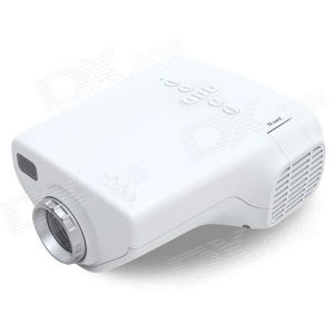 Projectors - 1080p Portable Mini LED Projector Home Cinema Theater PC AV VGA USB Hdmi