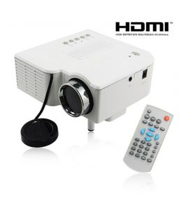Projectors - High Definition LED Projector With Vga, Usb, SD Card, Hdmi And Remote