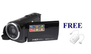Camcorders - TELEDEALZ IMPORTED HD VIDEO CAMERA WITH FREE GIFTS