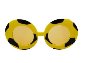 Sunglasses, Spectacles (Kids') - FAP Football design yellow colour fancy kids sunglasses for boys and girls