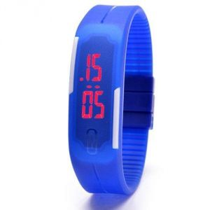 Women's Watches   Digital   Other - ADAMO JELLY SLIM FRIENDSHIP BAND LED WATCH BDLEDBL