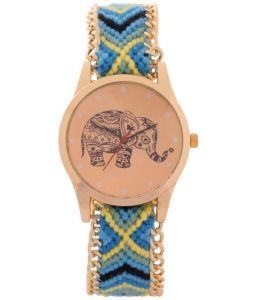 Fap Analog Dori Type Blue Colour Womens Watch