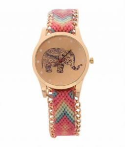 Fap Analog Dori Type Pink Colour Womens Watch
