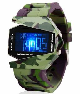 Fap Digital Racket Type Multicolour Mens Watch