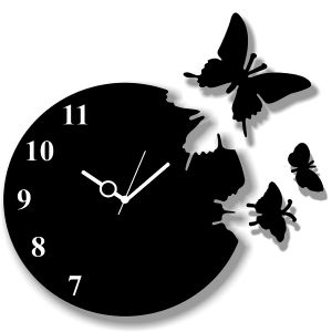 Enamel Wall Clock 9937