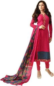 Style Amaze Good Looking Red Designer Straight Salwar Suit (code -nt-1704)
