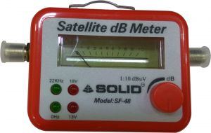Satellite Signal Finder Db Meter For Full-hd Dish T.v Network Setting