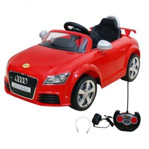 Remote Control Toys - Wheel Power Baby Battery Operated Ride On Car Audi 676 Ar Red