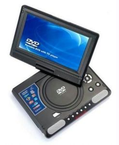 Premium Quality Portable DVD Player With 9.8 Inch TFT Screen