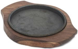 Shrih Classic 5 Inch Round Sizzler Plates
