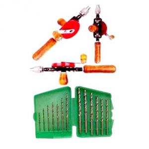 Combo Offer 2 In 1 Offer Hand Drill Machine With Drill Bits
