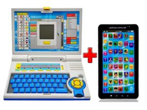 Learning Laptop With Free P1000 Tablet Toy Js