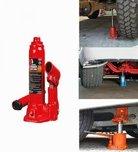 Car jacks - Hydraulic Bottle Auto / Car Jack 3 Ton For Stepney / Tyre Puncture Repair