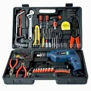 Perfect Multipurpose 102 PCs Toolkit Drill Machine