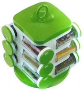 Jony Rotating Spice Rack- 12 Piece Set