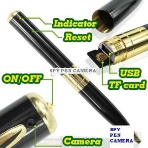 Spy Pen HD Video Hidden Camera 4GB Memory