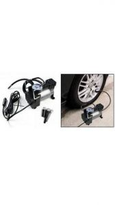 Car Utilities - Air Pump - 12v Electric Metal Air Compressor Pump Tire Inflator For All Car