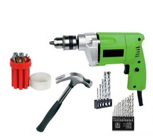 Power Tools - Saifpro Home Drill Machin Kit