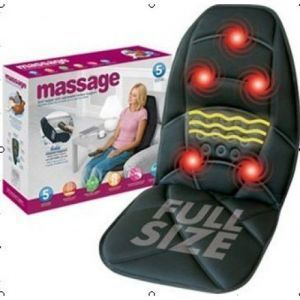 Health & Fitness - Bodyfit Car Seat Massager For Full Body Massager Driving Comfort.