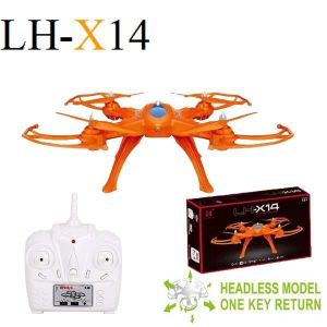 Lh-x14 New Item 2.4g Technology Control Rc Drone Kit Remote Control Rc Drone Helicopter