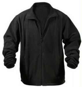 Polar Fleece Jacket - Black
