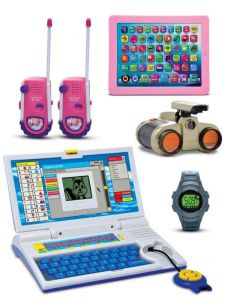 Kids Talking Laptop, Kids Tablet ,binocular, Watch And Free Walkie Talkie