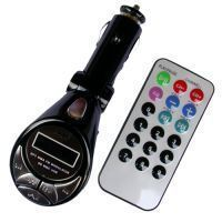 Car 4-in-1 MP3 Wireless Modulator / FM Transmitter With Remote Card Reade