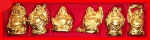 6 Laughing Buddhas-for Positive Energy - Feng Shui